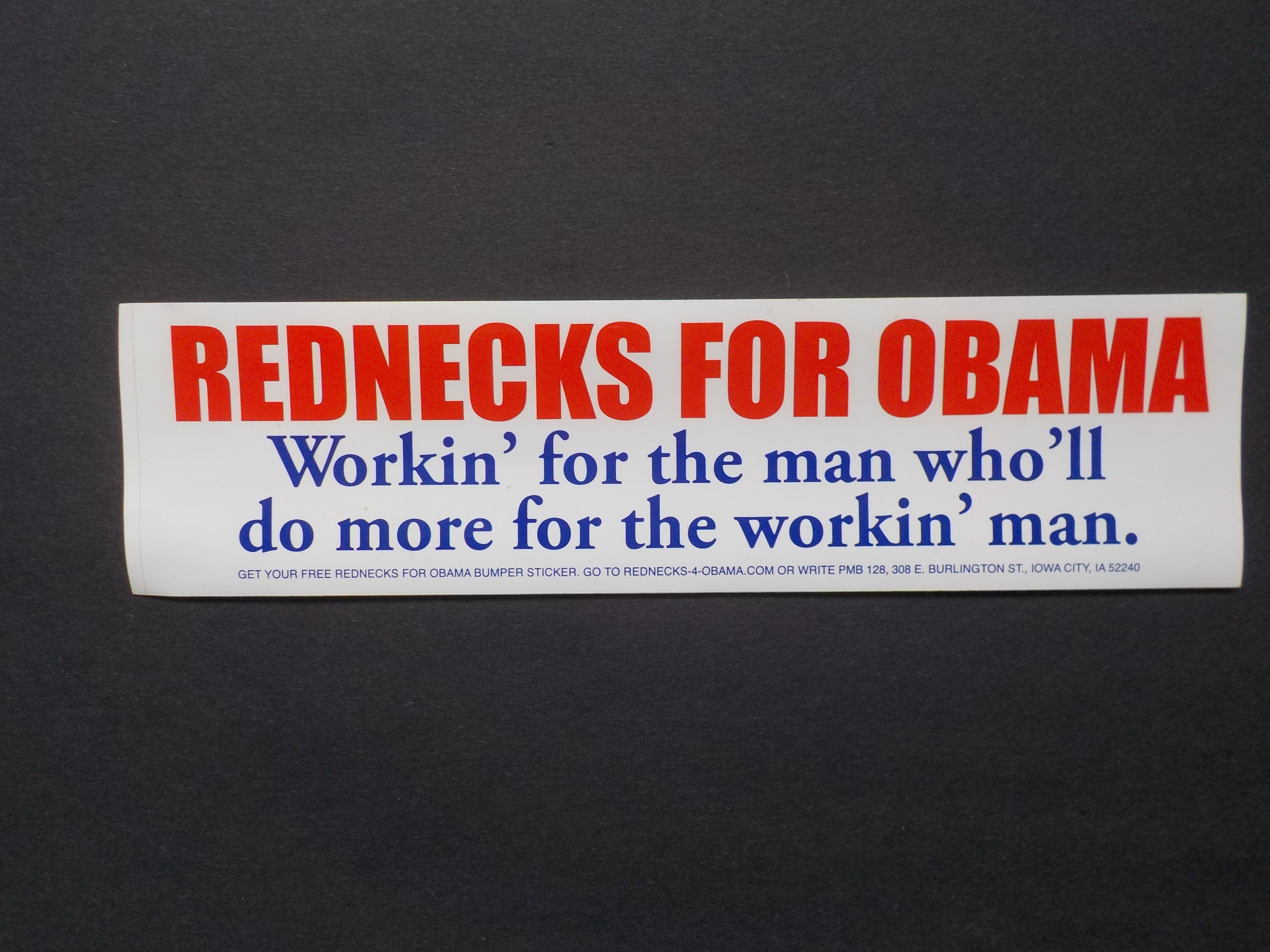 Rednecks for Obama